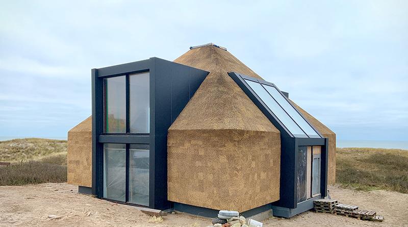 Dach- und Fassadendämmung. Foto: R. Mauer